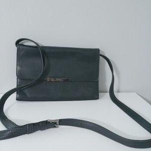 Enzo Angiolini Envelope Leather Bag
